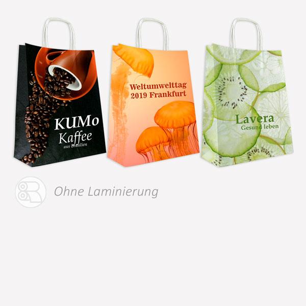 Kraft Papiertaschen